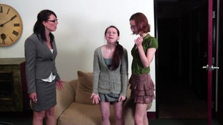 Tipsy students seducing Mrs. Zoe