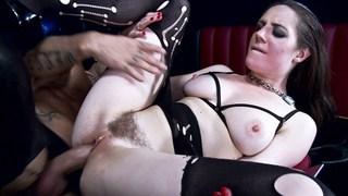 Police woman having anal sex