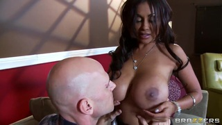 Johnny Sins desires to bring some Indian flavor to his cock