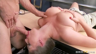 Amazing boobjob of the sexy Alex Chance