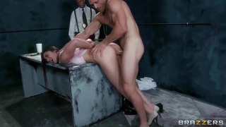 Dani Daniels having screw with Johnny Sins