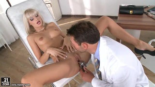 Erica Fontes is so exciting and mesmerizing that her doctor can not resist
