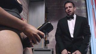 Waitress Jenna J Foxx seducing maitre d' Johnny Castle
