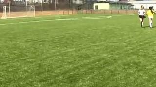 Brazilian player plumbing the referee