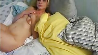 Blonde Milf Enjoys Cock in her Cunt