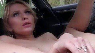 Gorgeous milf hitch hikes to have sex