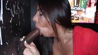 Chick creates wild pleasures with sexy sucking