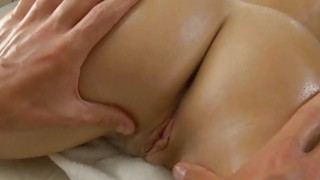 Delicious masseur is plowing babes cunt wildly