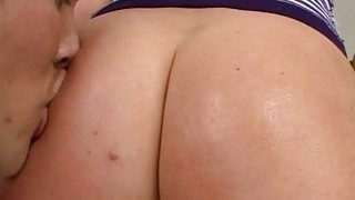 Bubble Butt Krissy Lynn Sloppy Blowjob