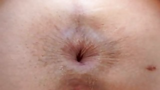 Man is having fun sucking babes sexy butt hole