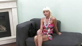 Fake agent enjoying brunette cunt