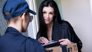 Special care for the postwoman