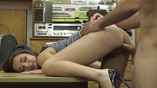 Woman sells her heels and banged good