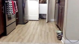 Anal Masturbation In The Kitchen On Cam