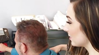 Bambi Brooks gets her tight pussy fuck sideway