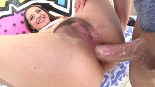 Anal rebel Avi Love got her airtight rectum slowly penetrated