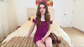 Gorgeous pale teen
