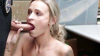LP Officer fucks Emma Hix from behind