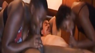 African Slaves Pleasing Stiff Rods In Foursome