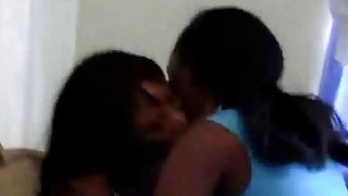 Amateur African lesbos licking juicy pussies