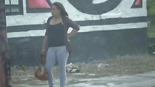 Purse snatcher gets caught by these bad and horny female officers