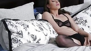 WOW Casey Calvert barely fits Shane Diesels HUGE cock inside the ass