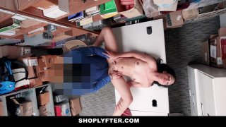ShopLyfter  Thief Gets Stripped and Fucked