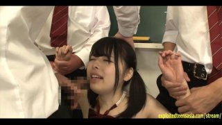 Jav Idol Yamakawa Yuna Bullied And Fucked In Class
