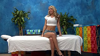 Blonde masseuse ready to seduce