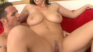 Crummy and curvaceous Sara Stone is riding a cock and getting thrusted badly