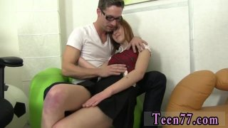 Guy cums with finger ass first time Redhead Linda screwed by dude