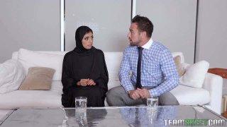 Muslim Teen Gets The Cream