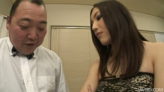 Hot Japanese girl Mashiro Nozom gets her pussy liced and thrilled