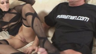 Seductive brunette Natasha Nyce is starring in an awesome porn clip