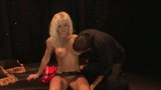 Voracious blonde skank Barbara Summer is screwed hard in a hardcore porn vid