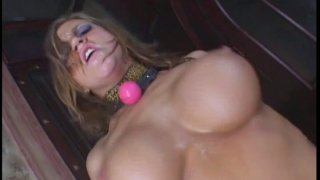 Filthy slut Eve Lawrence gets humiliated and fucked hard