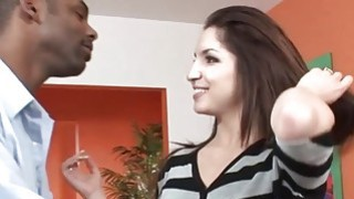 Trina loves getting pounded by two men