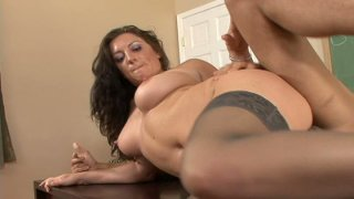 Busty teacher Piper Austin gets pounded in her classroom