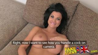 FakeAgentUK Delicious body with amazing breasts