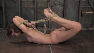 2007 Amber Rayne Hogtied and fucked